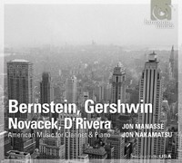 Novacek. Sonata for Clarinet