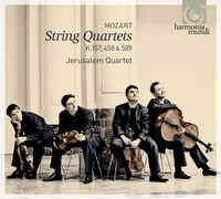 Cuartetos Cuerda Mozart