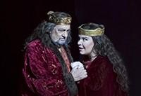 Plácido Domingo como Macbeth en el Palau Les Arts de Valencia