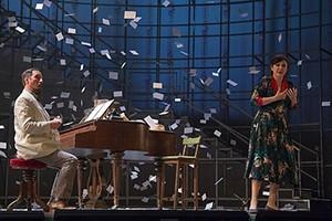 María José Montiel interpreta a María Moliner en el Teatro de la Zarzuela