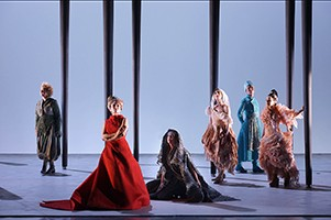 Iphigenia in Thrakien am Teatro de la Zarzuela in Madrid
