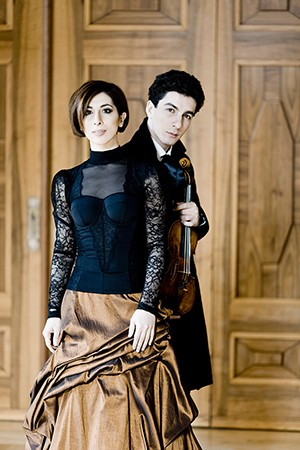 Lusine y Sergey Khachatryan