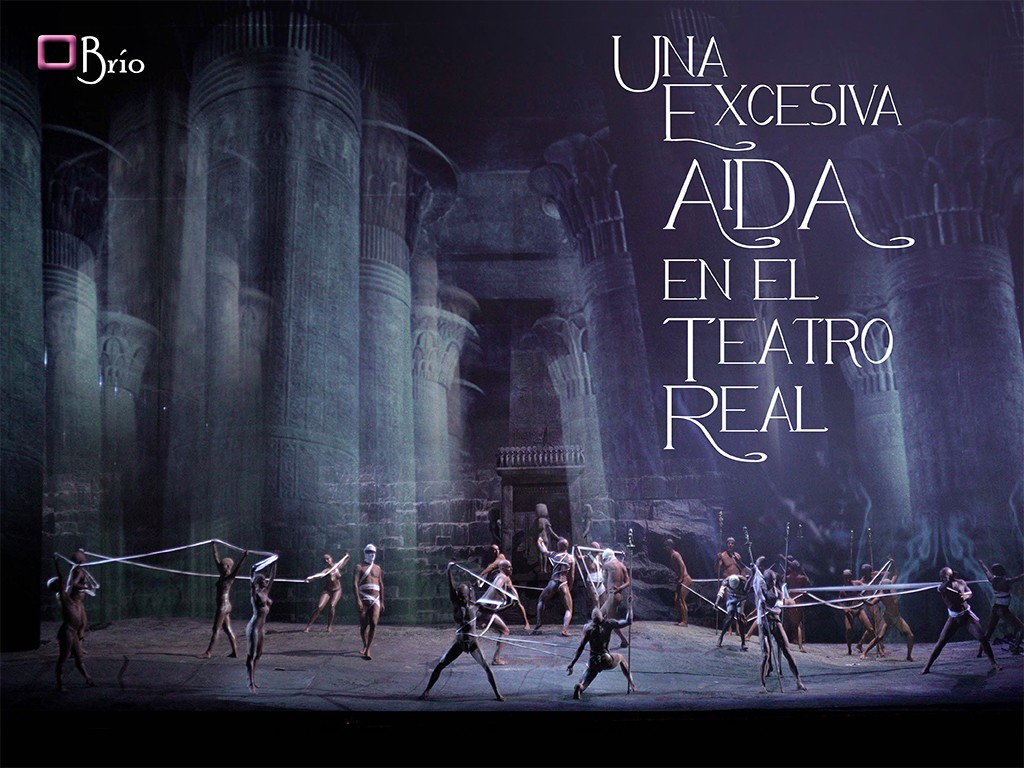 Una excesiva Aida en el Teatro Real