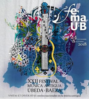 CNDM coproduced the XXII Music Festival of Ubeda and Baeza