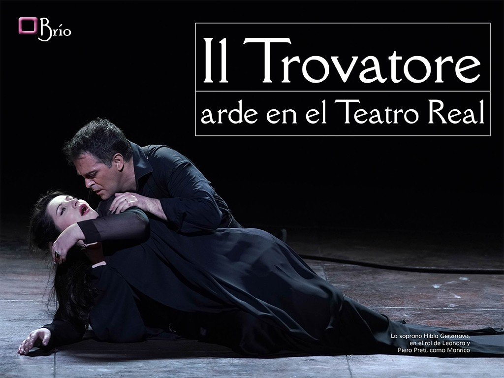 Il Trovatore arde en el Teatro Real