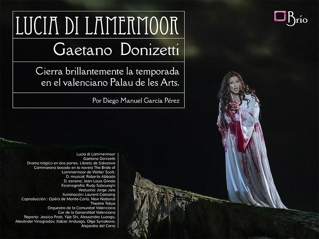 Lucia di Lammermoor cierra temporada en Les Arts