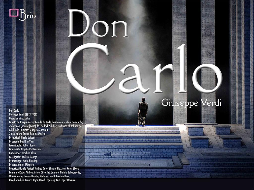 Don Carlo, en el Teatro Real