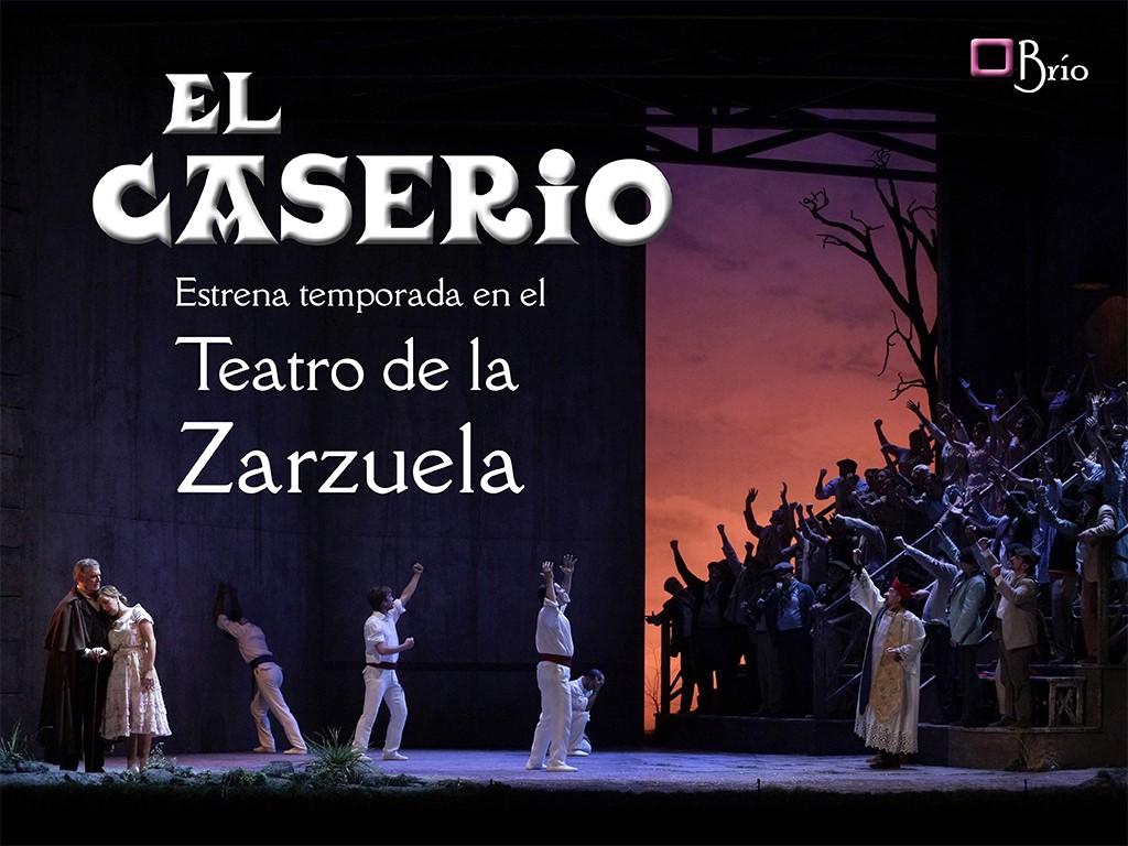 El Caserío estrena temporada en el Teatro de la Zarzuela