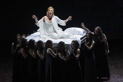 Ópera Elektra de Richard Strauss. Les Arts. Fotografías: Miguel Lorenzo / Mikel Ponce