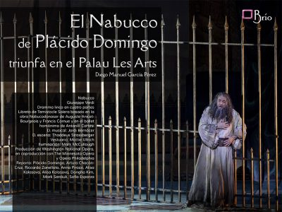 Placido Domingo Nabucco Les Arts