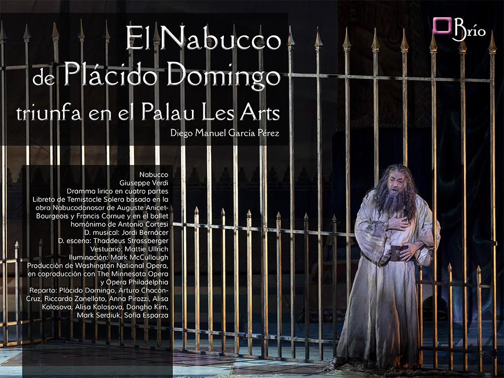 Nabucco de Plácido Domingo en Les Arts