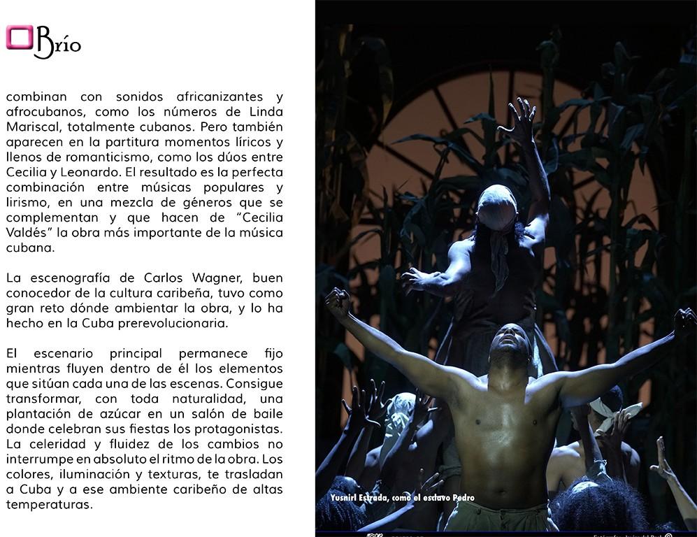 Cecilia Valdés, Teatro de la Zarzuela