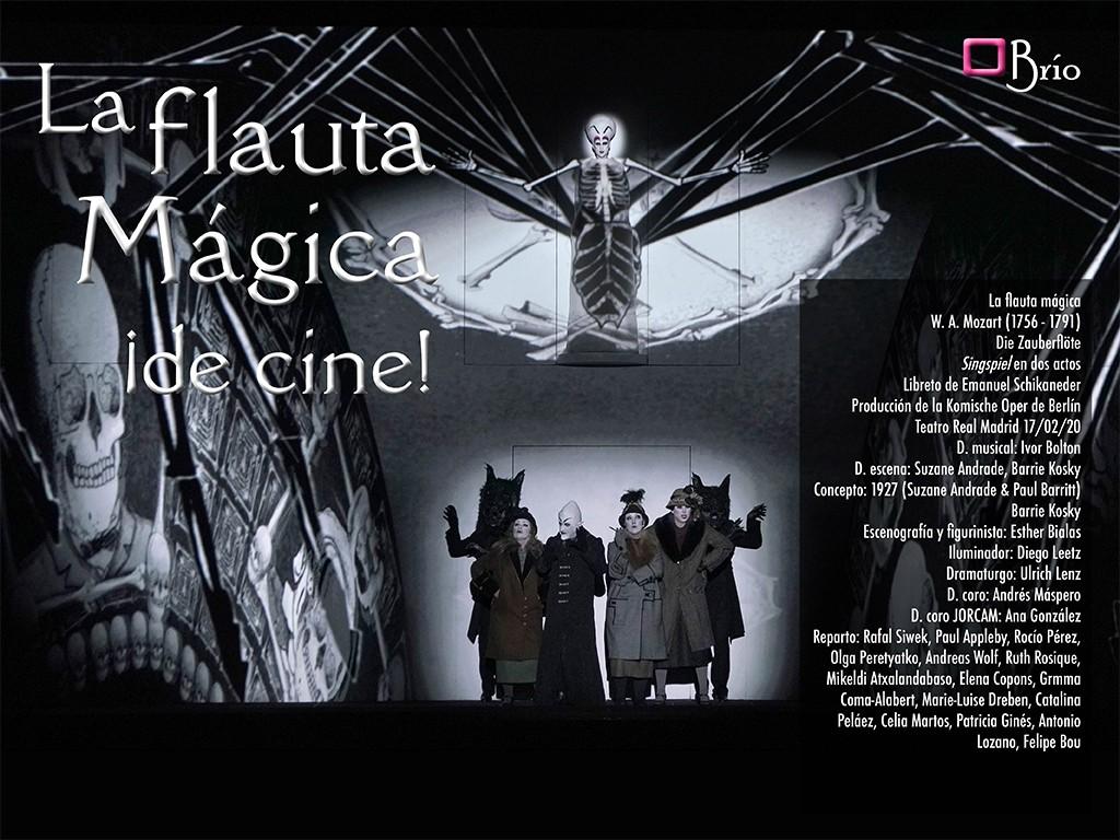 La flauta mágica, ¡de cine! en el Teatro Real