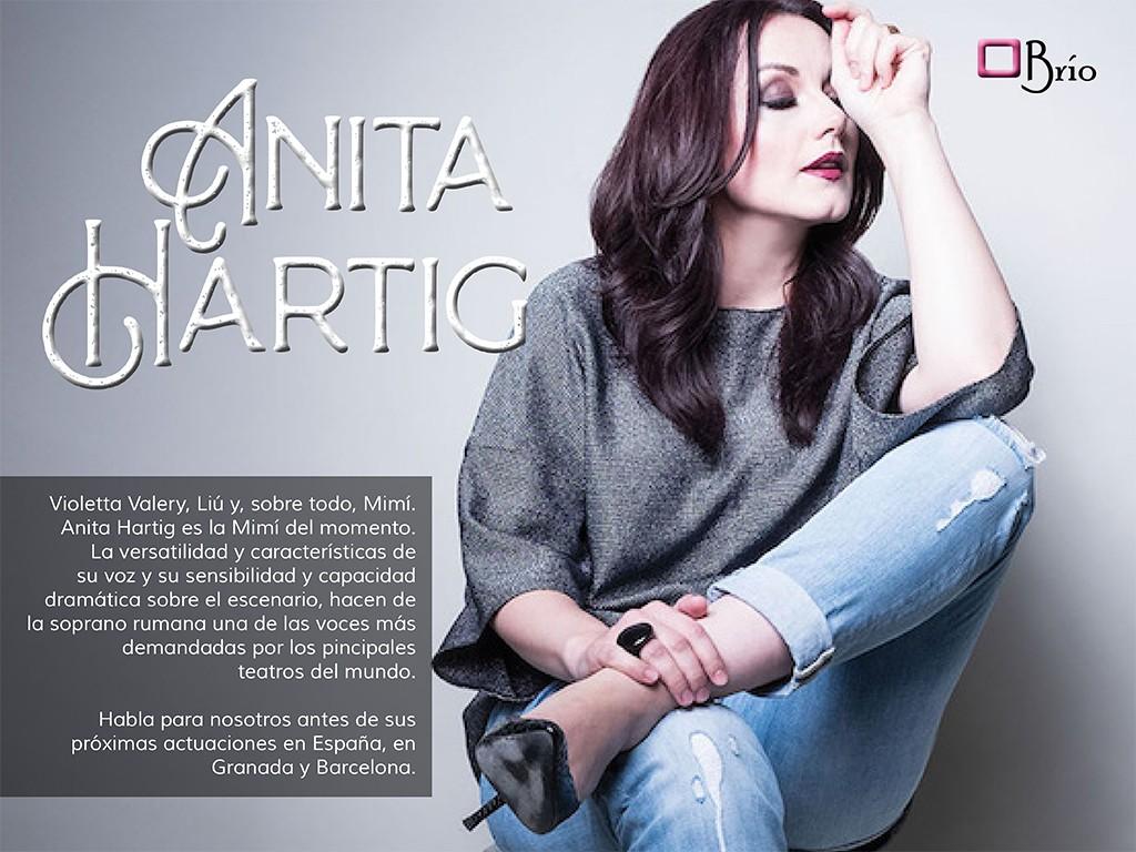 Entrevista a la soprano Anita Hartig
