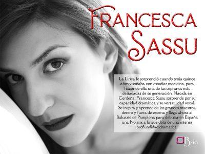 Francesaca Sassu, interview