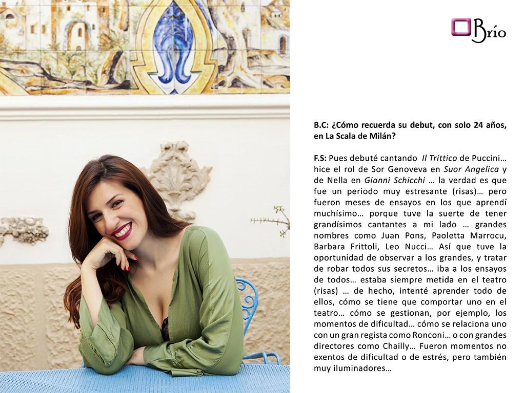 Francesaca Sassu, entrevista8