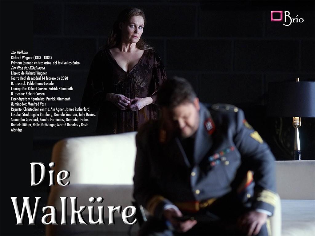 Die Walküre, de Wagner, en el Teatro Real