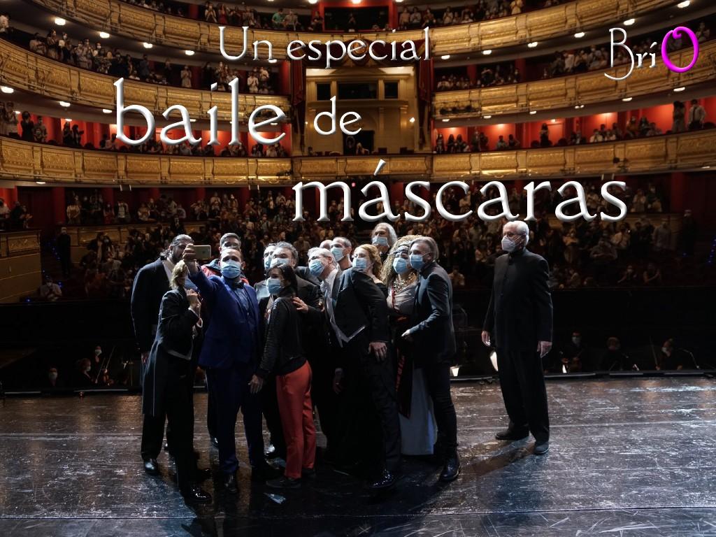 Un especial baile de máscaras